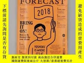 二手書博民逛書店Monocle特刊罕見The Forecast 2018 issue07展望2017 英文原版雜誌Y22298