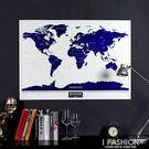 旅行人生星光世界地圖刮刮樂送男女生朋友生日實用浪漫禮物-ifashion