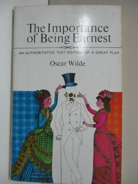 【書寶二手書T9/藝術_ID4】Importance of Being Earnest_Wilde, Oscar