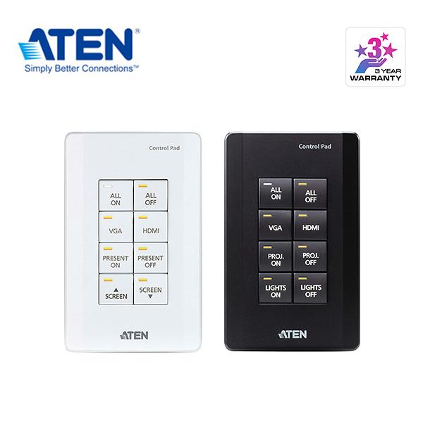 ATEN VK0100 環控系統 - 8 鍵式按鍵主機 (美規, 1 Gang)