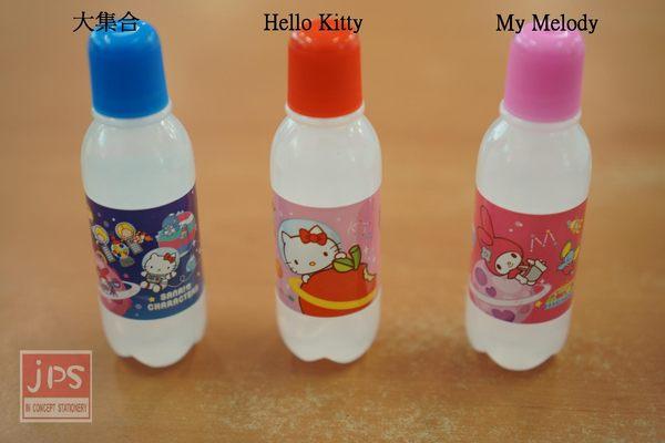 SANRIO 太空 寶特瓶膠水 (Hello Kitty & My Melody & 大集合)