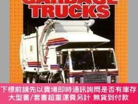 二手書博民逛書店Garbage罕見Trucks (Pull Ahead Books Mighty Movers)-垃圾車(超前書籍