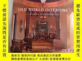 二手書博民逛書店Old罕見World Interiors - A Modern