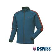 K-SWISS HS Jersey Jacket韓版運動外套-男-靛青