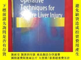 二手書博民逛書店Operative罕見Techniques for Severe