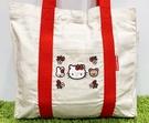 【震撼精品百貨】凱蒂貓_Hello Kitty~日本SANRIO三麗鷗 KITTY 手提包/側背包-環保草莓#78211