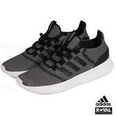 Adidas 新竹皇家 CLOUFFOAM 黑白 記憶鞋墊 織布 運動鞋 女款 No.I7945