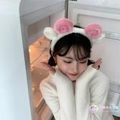髮飾 可愛少女心賣萌羊角壓發頭箍自拍發箍化妝發帶韓國敷面膜洗臉發飾-星時代生活館