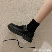小皮鞋女夏ins潮新款日系jk洛麗塔圓頭網紅英倫風瑪麗珍單鞋 格蘭小鋪