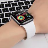 適用iwatch4錶帶5applewatch3蘋果手錶錶帶2運動硅膠1男潮手錶帶女配件代
