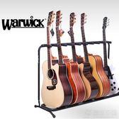 春季熱賣 WARWICK多把民謠木/電吉他架貝斯琴架多頭排架支架 3/5/7/9把
