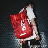 街頭時尚潮流背包超火後背包潮牌男大容量15.6寸中學生書包女交換禮物