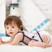 嬰兒肚兜 純棉薄款連腿肚兜嬰幼兒連腳圍兜護臍新生兒衣服 珍妮寶貝