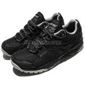 HI-TEC 越野慢跑鞋 V-Lite Wild-Life Scorpion 黑 灰 輕量緩震 戶外鞋 女鞋【PUMP306】 O006635021