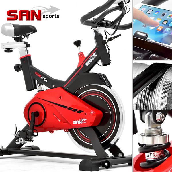 13KG動感飛輪健身車.競速飛輪車(後避震+皮帶傳動)訓練台腳踏車美腿機單車.運動健身器材.哪裡買ptt