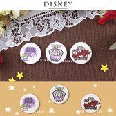 Disney迪士尼 玩具總動員圓型折鏡 雙面鏡_復古風