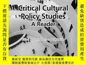 二手書博民逛書店Critical罕見Cultural Policy StudiesY255562 Justin Lewis W