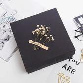 正方形禮物盒韓版禮物盒文藝小清新簡約