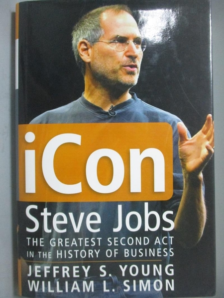 【書寶二手書T3/傳記_ZBL】iCon Steve Jobs-The Greatest Second Act in t