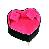 時尚飾品架首飾盒歐式公主小家具收納盒-愛心雙枕沙發