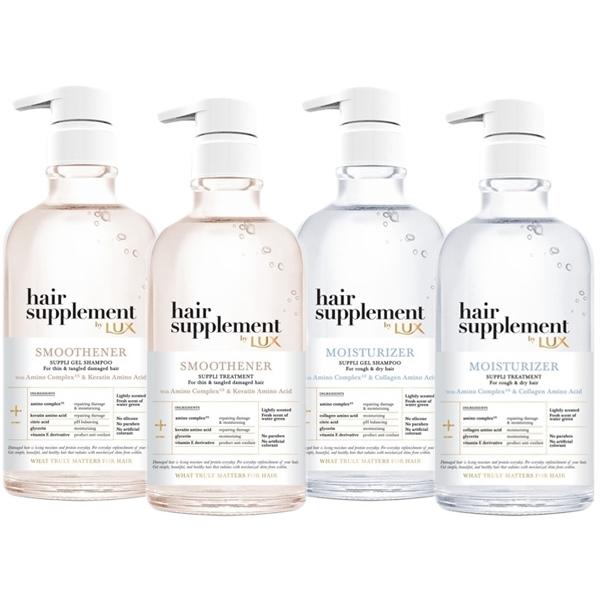 LUX麗仕 髮的補給胺基酸洗髮精/護髮乳(450g) 款式可選【小三美日】