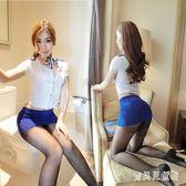 情趣制服 性感空姐制服短裙OL職業裝大碼女式激情套裝 BF5381『寶貝兒童裝』