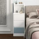 床頭櫃 床頭櫃簡約現代迷你小型超窄款置物架簡易小櫃子臥室床邊櫃長條櫃 2021新款