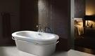 【麗室衛浴】BATHTUB WORLD  壓克力造型獨立缸 LS-1080 150*75*60cm