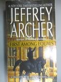 【書寶二手書T3/原文小說_HOD】First Among Equals_Archer, Jeffrey