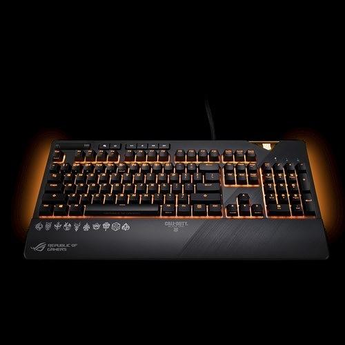 ASUS ROG STRIX FLARE COD版 機械電競鍵盤