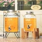 帶龍頭泡酒瓶10斤透明家用果汁罐 飲料桶...