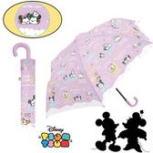 【迪士尼 折傘】迪士尼 TSUM 折傘 雨傘 日本正版 該該貝比日本精品