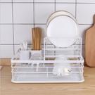 瀝水架 廚房置物架瀝水架碗筷架收納盒碗碟架子家用免打孔多功能廚房用品 快速出貨