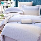 ✰加大 薄床包兩用被四件組✰ 100%純天絲《費爾頓》