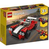 樂高積木 LEGO《 LT31100 》創意大師 Creator 系列 - Sports Car╭★ JOYBUS玩具百貨