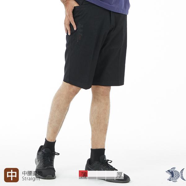 【NST Jeans】文質彬彬洗鍊黑 夏薄款牛仔短褲(中腰) 393(25920) 台灣製