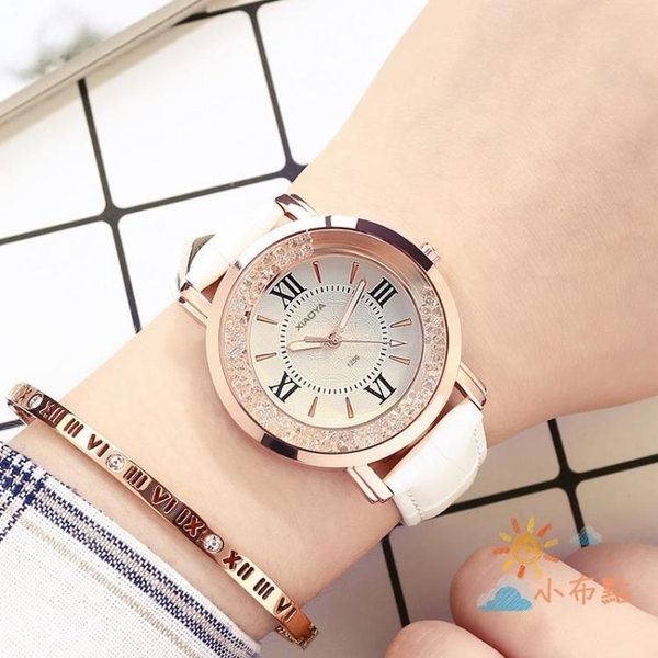 流行女錶新款手錶女夜光動感女錶時尚正韓潮流女學生皮帶防水石英手錶 【八折搶購】