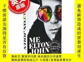 二手書博民逛書店我罕見艾爾頓約翰 官方自傳 英文原版 Me: Elton Joh