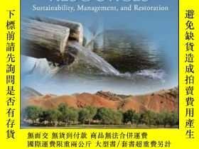二手書博民逛書店Groundwater罕見Resources: Sustaina