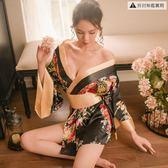 情趣內衣性感激情套裝SM和服小胸血滴子透視大碼