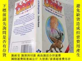 二手書博民逛書店Nancy罕見drew : the mystery of the winged lion南茜·德魯:翼獅之謎Y