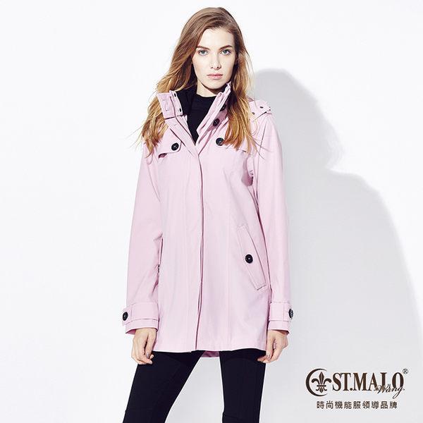 【ST.MALO】Sympatex零冷感經典科技長大衣-1533WJ-粉紅