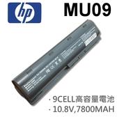 HP 9芯 日系電芯 MU09 電池 593550-001 593553-001 593554-001