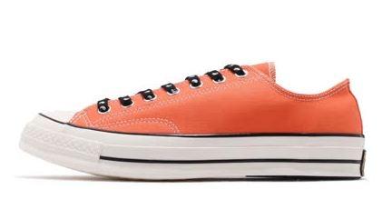 CONVERSE 女款 低筒休閒鞋 橘--NO.164213C