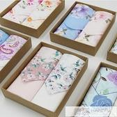 手帕女士手絹浪漫櫻花生日禮物禮盒柔軟吸汗 純棉手帕  母親節特惠