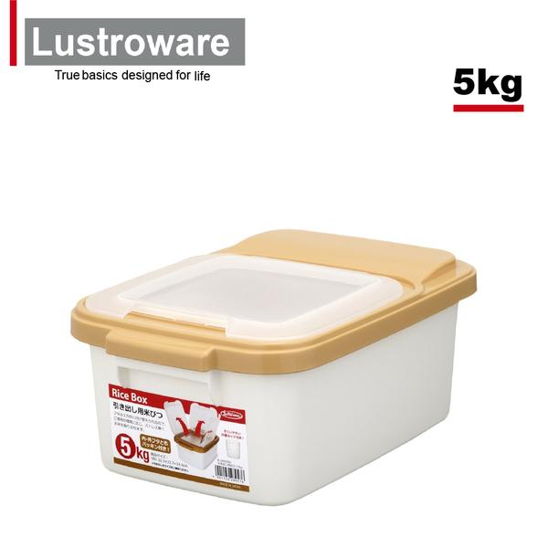 【Lustroware】日本岩崎儲米箱附量杯-5KG