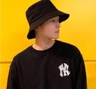 大檐黑色漁夫帽男士帽子夏季款韓版潮牌嘻哈日系遮陽帽防曬大頭圍 3C優購
