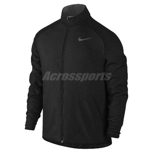 Nike 外套 Dry Jacket Team Woven 黑 灰銀 電繡LOGO 立領 運動夾克 男款 【PUMP306】 800200-010