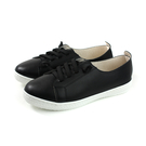 兒童鞋 休閒鞋 皮質 黑色 大童 6371-1-99 no064