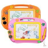 畫畫板 新款大號畫畫板寶寶彩色磁性小畫板涂鴉板磁性寫字板兒童玩具 aj3234『美好時光』